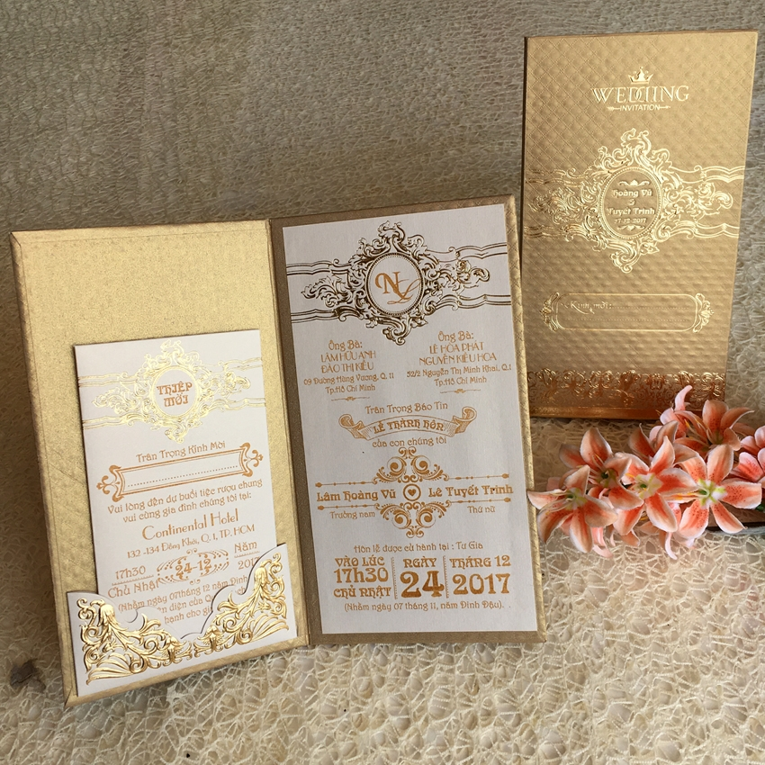 Wedding Invitations Book Type - New Trend for Wedding Cards 2017